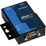 MOXA NPort 5110A-T - 1 Port Device Server, 10/100 Ethernet, RS-232, DB9 Male, -40 to 75°C Operating Temperature