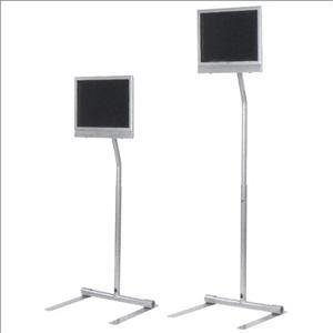 Pedestal Stand For Lcd Screen - Black - Peerless Lcd Pedestal Stand