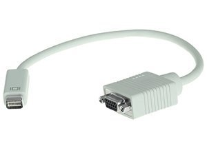 Mini-DVI to VGA Female Monitor Cable Adapter