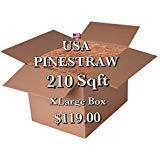USA Pine Straw | On Sale | Premium Pine Needle Mulch - 210 Sqft.