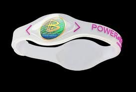 83cb2de07e539 Power Balance Performance Technology Bracelet in (Clear/Pink Lettering)  Size: Extra Small