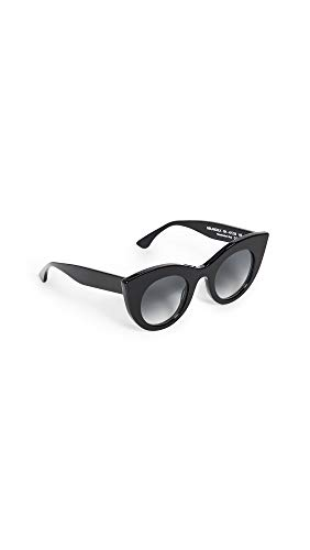 Thierry Lasry Women's Melancoly 101 Sunglasses, Black, One ()