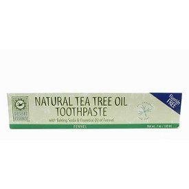Desert Essence Natural Tea Tree Oil Toothpaste Fennel - 6.4 oz Pack of -