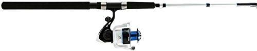 Okuma TXP-1002-80 Tundra Pro Spinning Combo, 80, 10 Length 2pc, 20-40 lb Line Rate, Medium Heavy Power, Ambidextrous