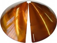 Erva SB8C Cone Squirrel Baffle & Guard - Copper Tint