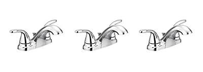 Moen 84603 Two Adler 4 in. Centerset 2-Handle Bathroom Faucet in Chrome