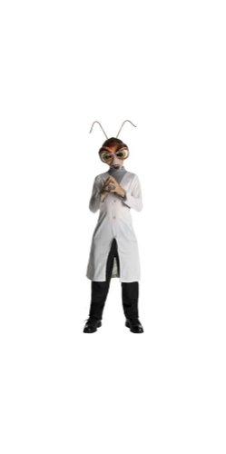 [Monster Vs. Aliens Dr Cockroach Costume - Child Costume - Small] (Cockroach Costumes)