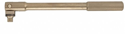 18 Nickel Aluminum Bronze Breaker Bar with 3/4 Drive Size and Natural Finish