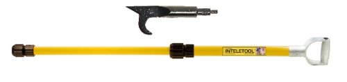 Inteletool Telescopic USA Hook with D Grip 2 to 4 foot by Inteletool