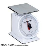 Detecto Top Loading Portion Scales Mechanical, 500 Grams by Detecto