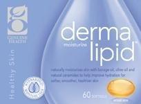 dermalipid hydratation de la peau avec phytoceramides (60 Capsules) marque: Genuine Health