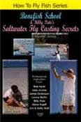 BONEFISH SCHOOL & BILLY PATE'S SALTWATER FLYCASTING SECRETS (Over 2 hour How to Fly Fish Series Tutorial DVD) - Billy Pate Tarpon