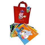 Book And CD collection - Peppa Pig 10 books set including CD (Naughty Tortoise, Rainbow, Train ride,Trip to Moon,Dentist Trip,Sports Day,Daddy Pig's Lost Keys, Goes Swimming,School Bus Trip, Pedro's)