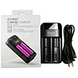 EFest Lush Q2 Intelligent LED Battery Charger by PrimeDeals
