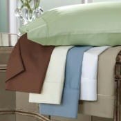 DreamFit 3-Degree 300 Thread Count Select World Class Cotton Sheet Set, California King, Taupe
