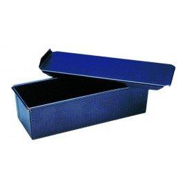 Molde Pan de Miga con Tapadera en Acero Azul. Largo: 29 cm. Ancho: 11 cm.: Amazon.es: Hogar
