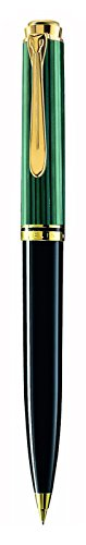 Pelikan Souveran D600 Black and Green Mechanical Pencil by Pelikan