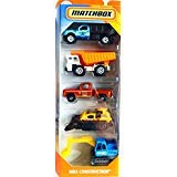 (Matchbox 2019 MBX Construction 1:64 Scaled 5-Pack)