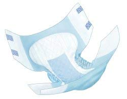 (Wings Choice Plus Quilted Brief, Large, Heavy Absorbency, 66034 - Case of 72)