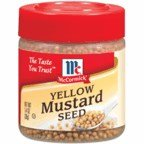 McCormick Yellow Mustard Seed 1.4OZ (Pack of 18)