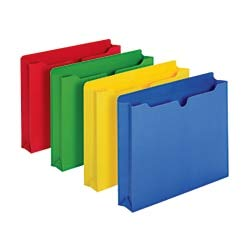 Office Depot Brand Color File Jackets, 2