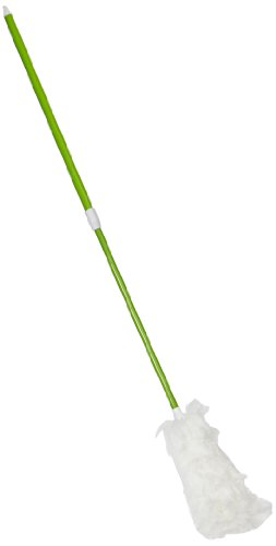Impact 3148 Microfiber Extendable Twist-and Lock Duster, 33'' Extends to 45'' Length, Green/White (Case of 12) by Impact Products