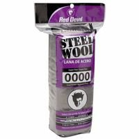 Steel Wool Super Fine #0000, Sold As 1 Package, 16 Each Per Package