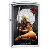 Zippo Lighter Kit Rae-Enethia A, High Polish Chrome - Kit Rae Zippo