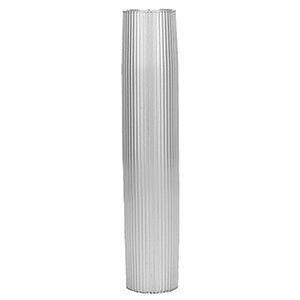 "TACO Aluminum Ribbed Table Pedestal - 2-3/8"" O.D. - 27-1/2"" Length"