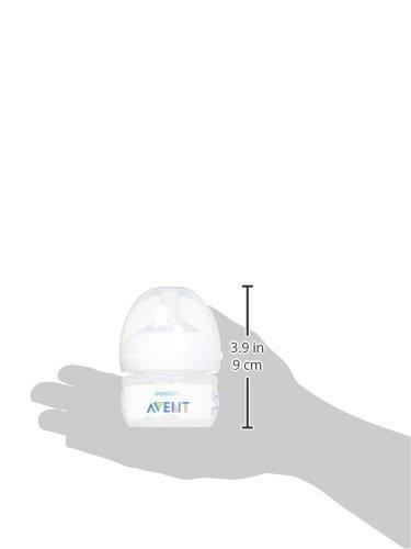 2oz Philips Avent Natural Baby Bottles SCF019//25 Clear 2pk