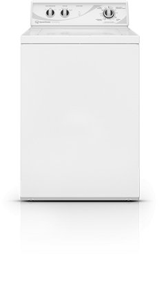 speed queen awn432s top load washer with 33 cu ft stainless steel wash tub white