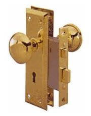 Ultx7 #Ultra Hardware 44610 Lock Mortise B/Steel Knob,