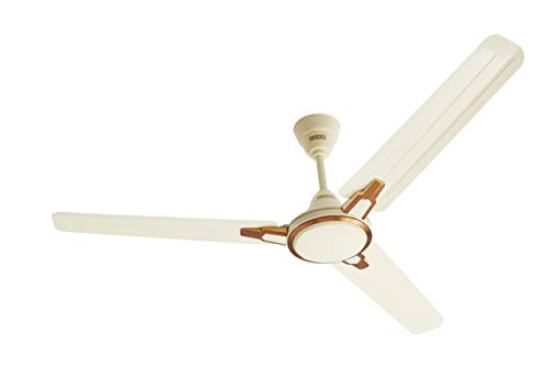 (Renewed) Usha Racer Chrome 1200MM Ultra High Speed 400RPM Ceiling Fan (Rich Ivory)