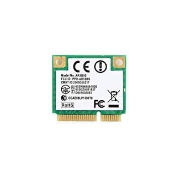 Atheros AR5B95 AR9285 802.11A/B/G/N Half Mini PCI-E Card
