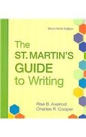 St. Martin's Guide to Writing 9e Short & e-Book