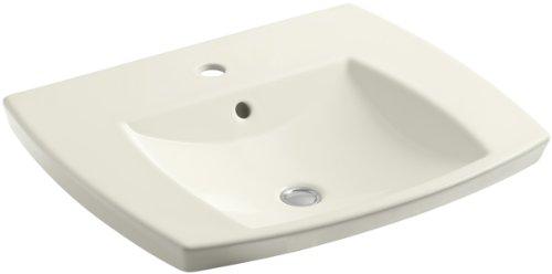 (KOHLER K-2381-1-96 Kelston Self-Rimming Bathroom Sink with Single-Hole Faucet Drilling,)