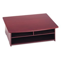 * Wood Tones Printer Stand, 21 x 18, Mahogany