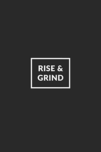 Rise & Grind: Cute Inspirational Small Pocket Size Dotted Bullet Notebook  with Dot Grid Pages for Journaling, Tracking and Planning  (Motivational
