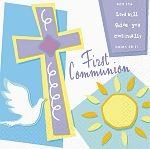 First Communion Celebration Luncheon Napkins