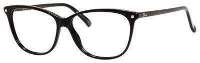 DIOR Eyeglasses 3270 0807 Black 53MM - Dior Cd Christian Eyeglasses Frame