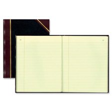 Book W/Margin, Record-Ruled, 300 Pages, 14-1/4''x11-1/4'', BK, Sold as 1 Each by Rediform