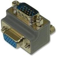 L-COM DG90H15MF2 ADAPTOR, HD D SUB, PLUG-RECEPTACLE, 15POS