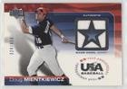 Doug Mientkiewicz #324/850 (Baseball Card) 2004 Upper Deck USA Baseball 25-Year Anniversary - Jerseys #GU-DM