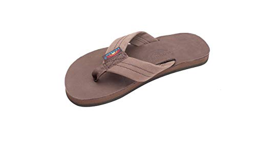 - Rainbow Sandals Kid's Single Layer Premier Leather Sandals, Expresso, Toddler 5-6 B(M) US
