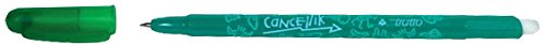 Penna a sfera cancellabile Tratto Cancellik verde 1 mm 806104 (conf.12)