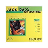 Thomastik-Infeld JF364 Bass Guitar Strings: Jazz Flat Wounds 4-String Super Long Scale Set; P. Nickel Flats G, D, A, E Set