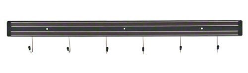 Update International MTH-24P Magnetic Tool Holder with Mounting Screws, Black, 24-Inch, Garden, Lawn, Maintenance