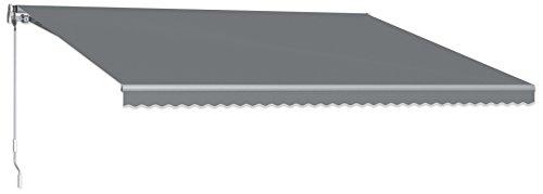Beauty-Mark MTL12-A-GUN 12' Maui Model 100 Left Motor/Remote Retractable Awning, 120