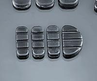Kuryakyn ISO Brake Pedal Replacement Pads - Standard/ Longhorn FX