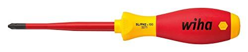- VDE SLIM MCB SCREWDRIVER - SLOT/PH1 Blade Length 80mm Overall Length 191mm Phillips Tip Size #1 Prod